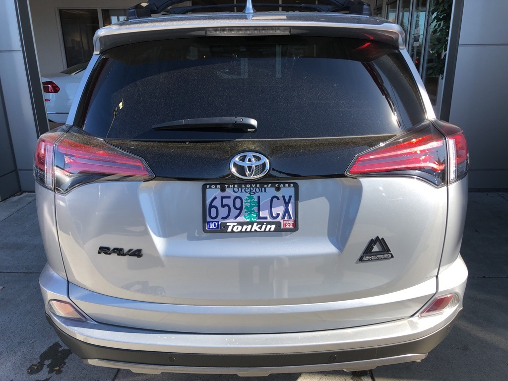 Certified Pre-Owned 2018 Toyota RAV4 Adventure