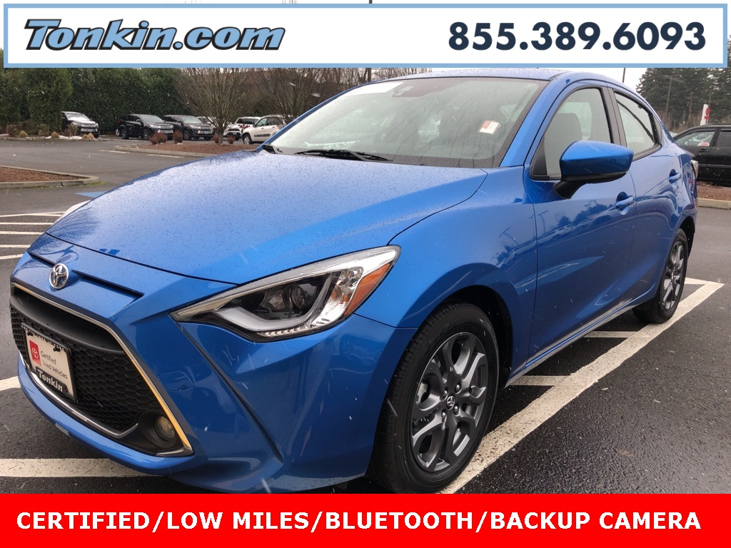 Certified Pre-Owned 2019 Toyota Yaris XLE