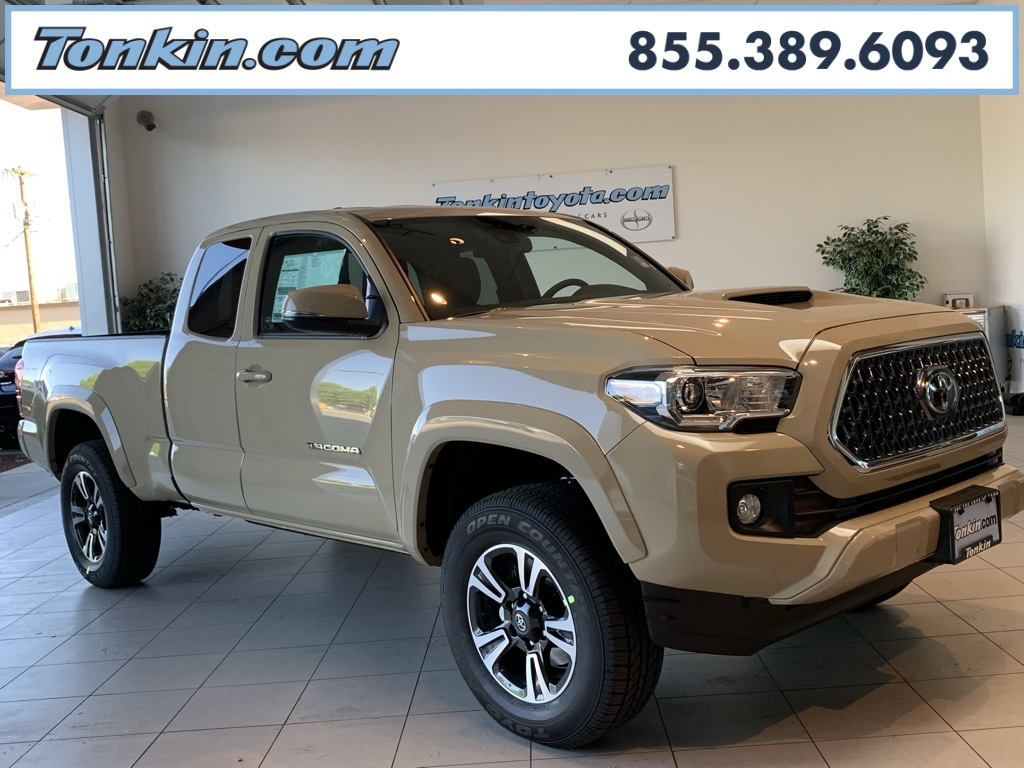 Tan Toyota Tacoma >> New 2019 Toyota Tacoma Trd Sport Access Cab 6 Bed V6 At Natl