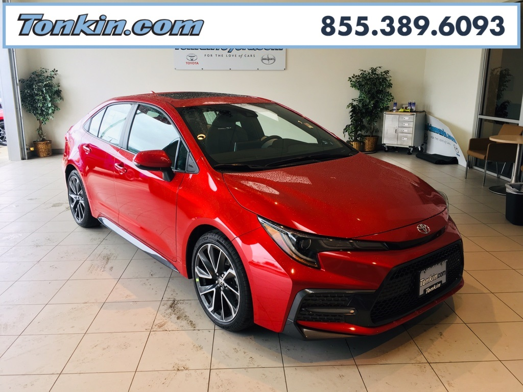new 2020 toyota corolla se 4d sedan in portland #t040013