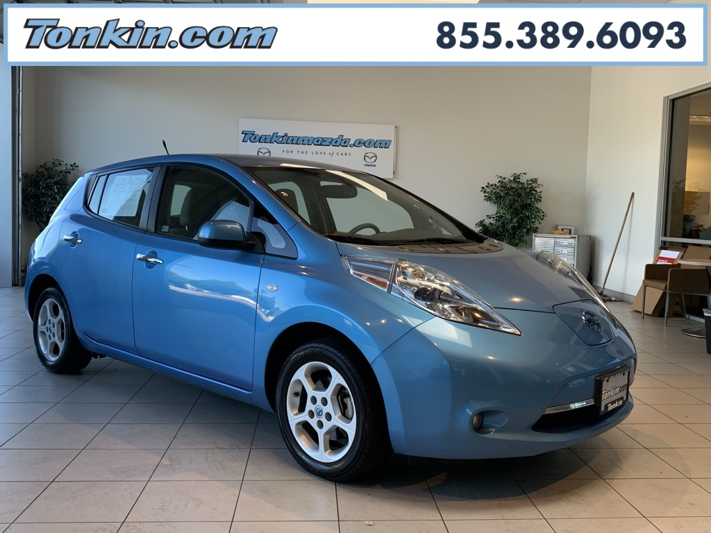 Pre Owned 2012 Nissan Leaf Sv 4d Hatchback In Portland T099209a