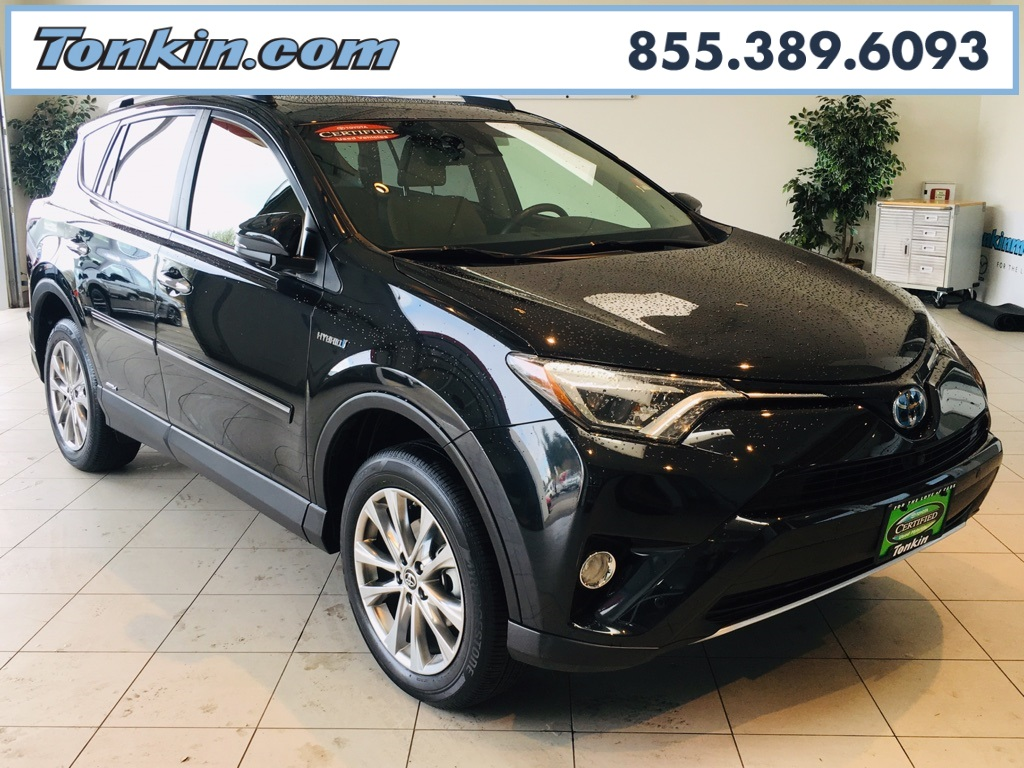Certified Pre Owned 2016 Toyota Rav4 Hybrid Ltd