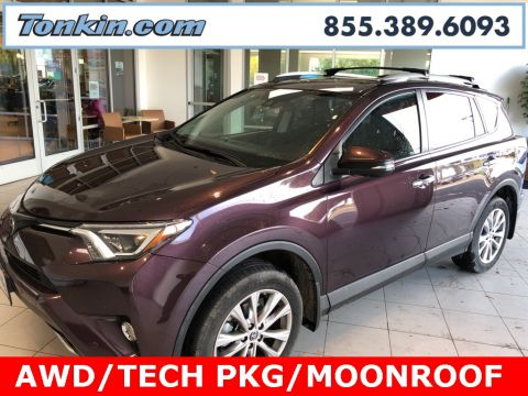 Certified Pre-Owned 2016 Toyota RAV4 Limited