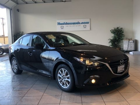 Pre-Owned 2016 Mazda3 i Grand Touring 6 SPEED MANUAL