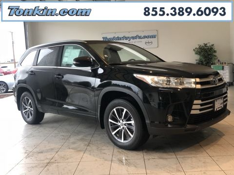 New 2018 Toyota Highlander XLE